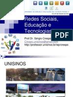 Redes sociais, educação e tecnologias