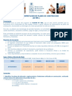 Programa Curso Interpretacion de Planos