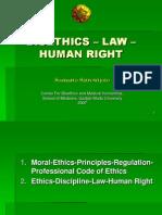 BIOETHICS – LAW – HUMAN RIGHT