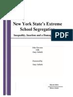New York State's Extreme School Segregation