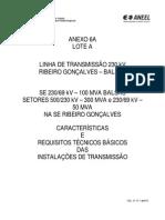 Aneel_impedancia Perdas Caracteristicas de Equipamentos