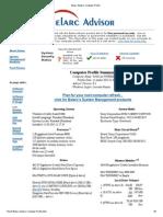 Belarc Advisor Computer Profile