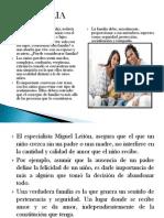 Diapositivas de La Familia y Los Tipos