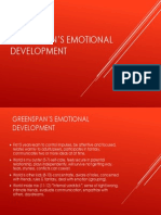 greenspans emotional development