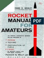 (1964) Rocket Manual for Amateurs