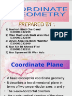 Presentation Math Coordinate Geometry
