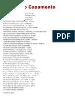 Poesia Do Casamento