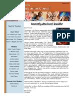 sample 1- newsletter