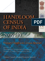 Handloom Census Report in India