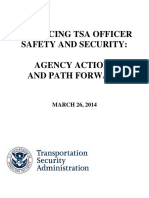 TSA Report - Enhancing TSA Officer Safety and Security