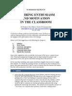 CTRL Building Student Engagement Handout