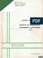 Estudio Hidrlogico Proyrcto Represa Cascabamba-contumaza