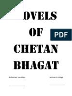 Novels of Chetan Bhagat