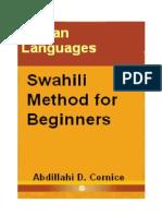 Swahili Method for Beginners