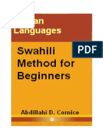 Swahili Method for Beginners