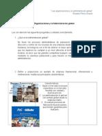 Organizaciones y La Administracion Global