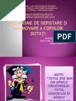 0 Mecanisme de Depistare Si Promovare a Copiilor Dotati Microsoft Office Powerpoint