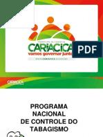 apresentação padrão PMC para médicos tabagismo
