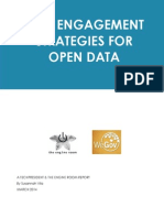 User Engagement Strategies for Open Data