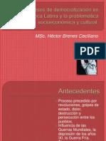 Los procesos de democratización en América Latina