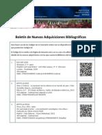 Boletín Bibliográfico Octubre_2013