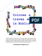 Colorea a través de la Biblia