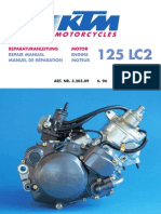 KTM 125 LC2 Engine Repair Manual