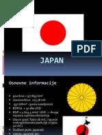 Japan - prezentacija III. gimnazije