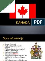 Kanada - III. razred gimnazije
