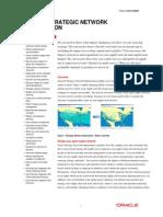 Strategic Network Op Tim Ization Data Sheet
