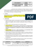 P-sig-10 Procedimiento Identificacion de Peligros Evaluacion y Control de Riesgos_rev 05