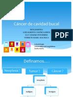 Expo Cancer de Cavidad Oral