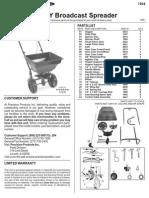 Manual Sembradora de Pasto SB52(GY)