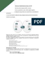 Resumen configuración Redistribución