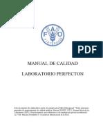 FAO. Manual de Calidad 17025