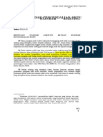 PSA No. 02 Hubungan Standar Auditing Dgn Standar Pengendalian Mutu (SA Seksi 161)