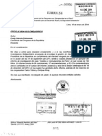 Narcoindultos, Informe de Megacomisión