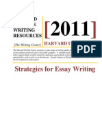 Strategies for Essay Writing