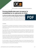 Cermaq detalla plan para recuperar la rentabilidad en su operación en Chile Enero GSCH