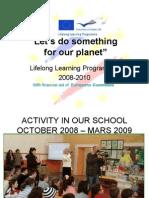 Activities Earth Gheorghe Mag Her u School Caracal