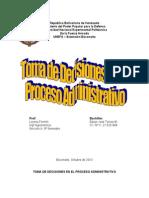 Toma de Decisiones en El Proceso Administrativo (1)