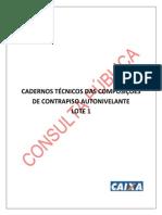 Cadernos Tecnicos SINAPI Lote 1 Autonivelante 45 a 56