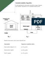 Aplicatie - Calculul Izolatiilor Frigorifice