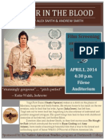 """Film Screening &  Discussion - """"Winter in the Blood"""""""