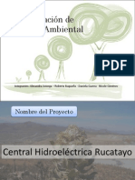 Central Hidroelectrica Rucatayo