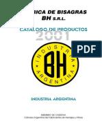 BH - Catalogo General Bisagras Herreria