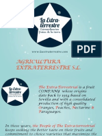 La Extraterrestre Catalogo Ingles