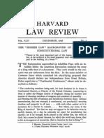 Corwin - Higher Law  Pt.1