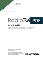 LUTRON RADIO RA2 SETUP
