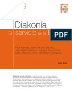 Diakonia El Servicio en La Biblia